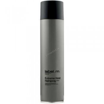 Label.m Extreme hold hairspray (Лак супер сильной фиксации), 400 мл - купить, цена со скидкой
