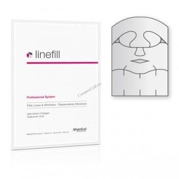"""MedSkin Solutions Linefill skin zone complete (Коллагеновая маска для лица, передней и боковых зон шеи """"Заполнение морщин"""") - купить, цена со скидкой"""