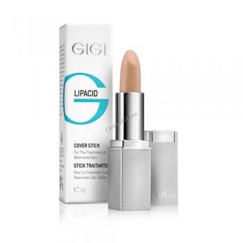 GIGI Lip cover stick (Тональный карандаш лечебный), 4 гр - купить, цена со скидкой