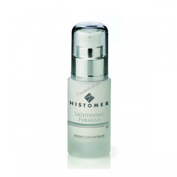 Histomer Lightening night concentrate (Осветляющая интенсивная ночная сыворотка), 30 мл - купить, цена со скидкой