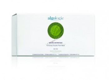 Algologie Purifying enzyme peel mask (Маска энзимная отшелушивающая), порошок 10 пакетов по 5 гр., гель-активатор 10 пакетов по 20 мл.  - купить, цена со скидкой