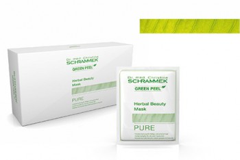 Schrammek Herbal Beauty Mask Pure - Очищающая травяная маска 100мл(10 * 10мл) - купить, цена со скидкой