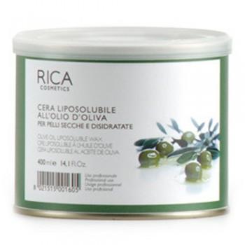 Rica - Воск оливковый, банка 400 мл  - купить, цена со скидкой