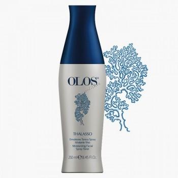 Olos Moisturizing facial spray toner (Увлажняющая тонизирующая эмульсия-спрей для лица), 250мл. - купить, цена со скидкой