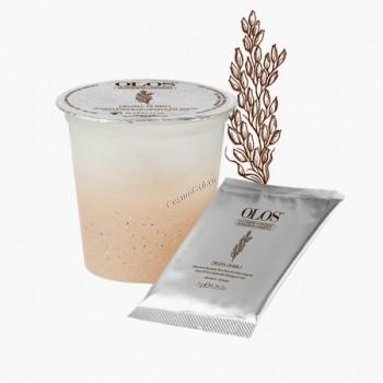Olos Mashera nutriente viso peel-off al riso integrale (Питательная пластифицирующая маска для лица с цельным рисом), 6 процедур - купить, цена со скидкой
