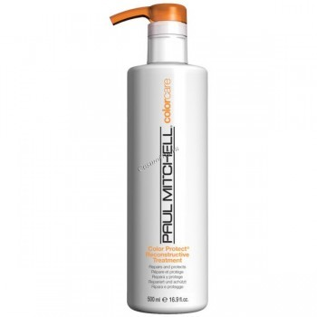 Paul Mitchell Color protect reconstructive treatment (Интенсивно восстанавливающий уход для окрашенных волос)  - купить, цена со скидкой