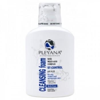 Pleyana Cleansing Foam with Mylti-Acid Complex ST-Control (Очищающая пенка с мультикислотным комплексом ST-CONTROL)  - купить, цена со скидкой