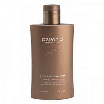 Pevonia For him aqua-gel foaming cleanser (Аква-гель очищающий), 200 мл - купить, цена со скидкой