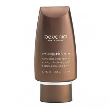 Pevonia For him soothing after shaving balm (Смягчающий бальзам после бритья), 50 мл - купить, цена со скидкой