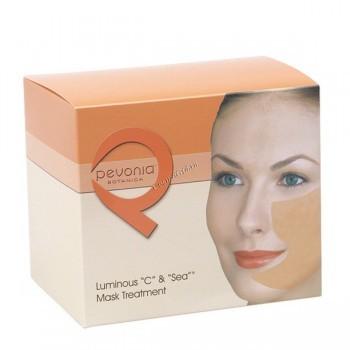 """Pevonia Luminous «C» & «sea» face mask (""""Блестящая"""" маска с витамином С и морскими водорослями), на 5 процедур - купить, цена со скидкой"""
