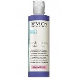 REVLON PROFESSIONAL   Шампунь, усиливающий цв. св. волос Blonde Sublime Shampoo 1250мл - купить, цена со скидкой