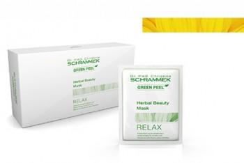 Schrammek Herbal Beauty Mask Relax - Релаксирующая травяная маска 100мл (10 * 10мл) - купить, цена со скидкой