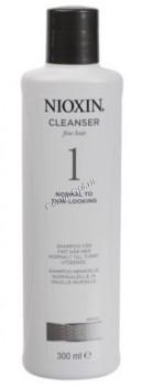 Nioxin Cleanser system 1 (Очищающий шампунь система 1), 300 мл - купить, цена со скидкой