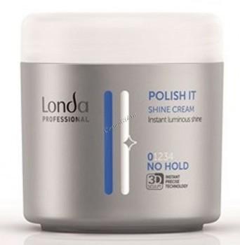Londa Professional No Hold Shine Cream Polish It (Крем-блеск для волос), 150 мл - купить, цена со скидкой