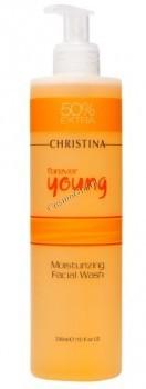 Christina forever young moisturizing facial wash (Увлажняющий гель для умывания), 300 мл) - купить, цена со скидкой