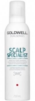 Goldwell Dualsenses Scalp Specialist Sensitive foam shampoo (Пенный шампунь для чувствительной кожи головы), 250 мл - купить, цена со скидкой