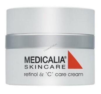 """Medicalia Medi-repair Retinol & """"C"""" care cream (Крем с витаминами А и С),  50 мл - купить, цена со скидкой"""