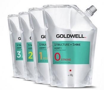 Goldwell Straight Shine (Агент 1- смягчающий крем), 400 мл. - купить, цена со скидкой