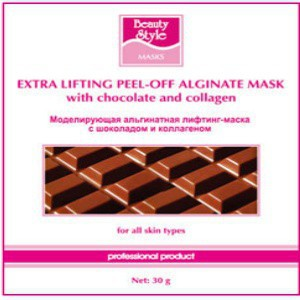 Beauty Style  Моделирующая (альгинатная) лифтинг-маска с шоколадом и коллагеном 30 гр*10 шт  - купить, цена со скидкой