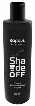 Kapous Лосьон для удаления краски с кожи головы «Shade off», 250 мл. - купить, цена со скидкой