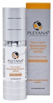 Pleyana Face Cream Moisturizing Sunscreen SPF 30 (Солнцезащитный увлажняющий крем для лица) - купить, цена со скидкой