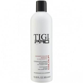 """Tigi Pro Radiant colour shampoo (Шампунь для окрашенных волос """"Сияющий цвет""""), 750 мл. - купить, цена со скидкой"""