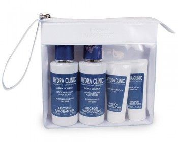Ericson laboratoire Travel kit hydra clinic (Набор для путешествий для сухой кожи), 4 шт - купить, цена со скидкой