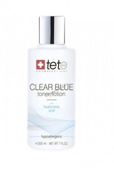 Tete Cosmeceutical Clear blue tonerlotion (Тоник/лосьон с гиалуроновой кислотой), 200 мл. - купить, цена со скидкой