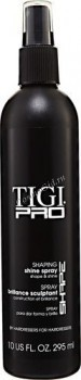 """Tigi Pro Shaping shine (Жидкий лак сильной фиксации """"Сияние""""), 300 мл. - купить, цена со скидкой"""