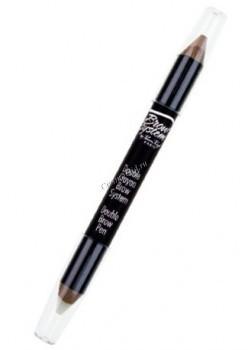 Perron Rigot Двойной карандаш для бровей, 1 шт. - купить, цена со скидкой