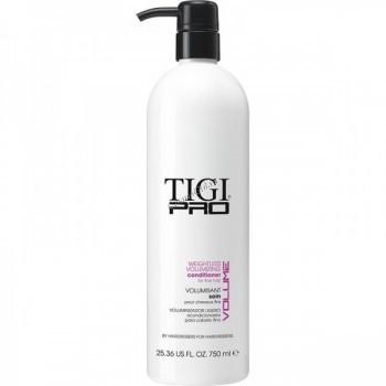 """Tigi Pro Weightless volumising (Кондиционер для придания объема тонким волосам """"Невесомый объем""""), 750 мл. - купить, цена со скидкой"""
