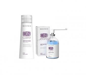 Selective Professional Detoxygen (Шампунь + лосьон для удаления загрязнений с кожи и волос), 2 препарата - купить, цена со скидкой