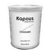 Kapous Жирорастворимый воск синий с азуленом в банке, 800мл. - купить, цена со скидкой