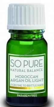 Keune so pure natural balance moroccan argan oil light (Масло арганы) - купить, цена со скидкой