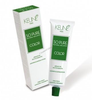 Keune so pure natural balance color (Перманентный краситель), 60 мл - купить, цена со скидкой