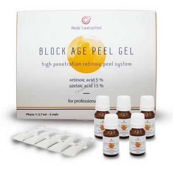 MedicControlPeel Block age peel gel (Гель для проведения химического пилинга),  2 препарата - купить, цена со скидкой