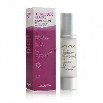 Sesderma Acglicolic Сlassic moisturizing gel (Увлажняющий гель), 50 мл. - купить, цена со скидкой
