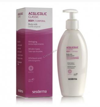 Sesderma Acglicolic Classic Body milk (Молочко для тела), 200 мл - купить, цена со скидкой