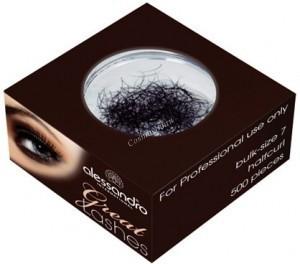 Alessandro Single eyelashes loose (Искусственные ресницы в блоке, черные, полуизгиб) - купить, цена со скидкой