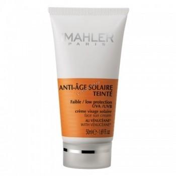 Simone Mahler Anti-Age Solaire Teinte  ( Антивозрастной солнцезащитный крем ), 50 мл. - купить, цена со скидкой