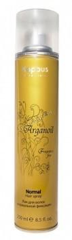 Kapous  Лак для волос с маслом арганы, 250 мл. - купить, цена со скидкой