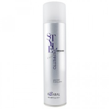 Kaaral Fortissimo extra hold finishing spray (Спрей для экстра сильной фиксации прически), 100мл. - купить, цена со скидкой