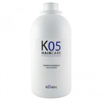 Kaaral Shampoo Antiyellow (Серебристый шампунь с антижелтым эффектом),  1000мл. - купить, цена со скидкой