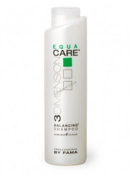 By Fama Equa care balancing shampoo (Восстанавливающий баланс шампунь), 300 мл. - купить, цена со скидкой