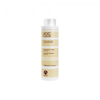 Barex Шампунь для вьющихся, непослушных волос с маслом семени льна 1000мл - купить, цена со скидкой