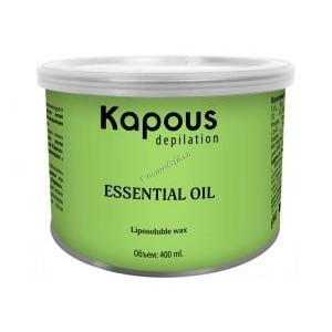 Kapous Жирорастворимый воск с эфирным маслом базилика в банке, 800мл. - купить, цена со скидкой