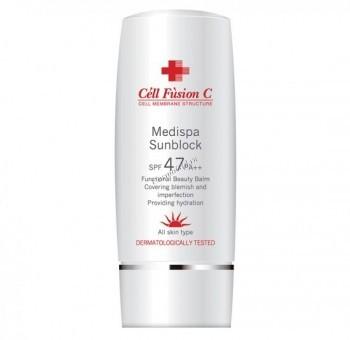Cell Fusion C MediSpa sunscreen spf 47/ PA   (Солнцезащитный  наноэмульсионный крем для чувствительной кожи), 70 мл - купить, цена со скидкой