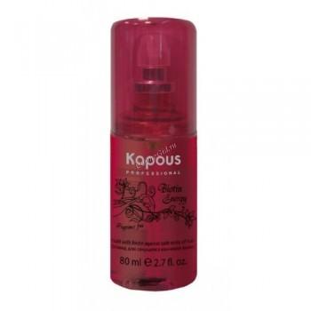 Kapous  Флюид для секущихся кончиков с биотином «Biotin energy», 80 мл.   - купить, цена со скидкой