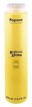 Kapous     Блеск-бальзам для волос «Brilliant gloss», 250 мл. - купить, цена со скидкой