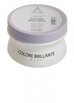 Kemon Крем-маска для защиты цвета и блеска окрашенных волос Colore Brilliante Mask 200 мл. - купить, цена со скидкой